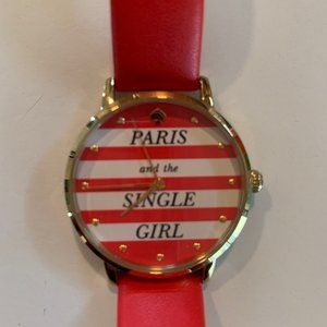Kate Spade Paris and the Single Girl Watch